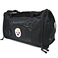 The Northwest Company Officially Licensed NFL Pittsburgh Steelers Roadblock Duffel Bag