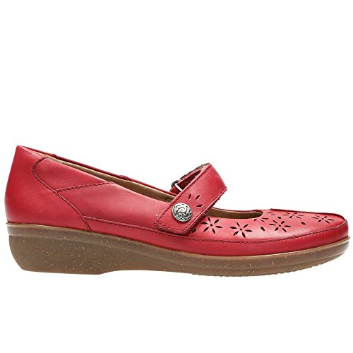 De Bai Clarks Everylay Femmes Clarks Rouge Sport Everylay Chaussures wgw7YqT