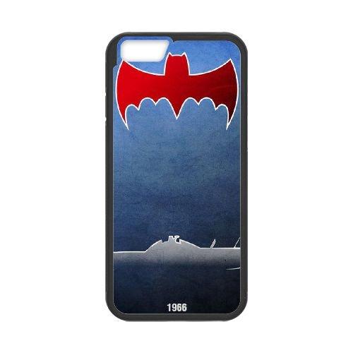 Batman Batmobile coque iPhone 6 4.7 Inch Housse téléphone Noir de couverture de cas coque EBDOBCKCO09391