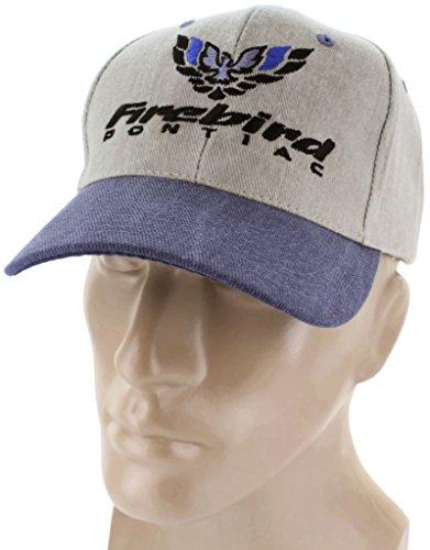 (Pontiac Firebird Blue Baseball Cap Trucker Hat Snapback Trans Am Firehawk)