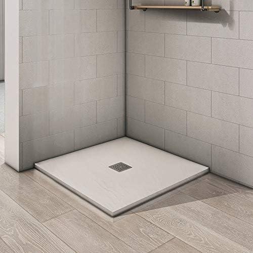 SPAZIO Space Box - Ducha esquinera con 2 Puertas correderas, 90 x ...