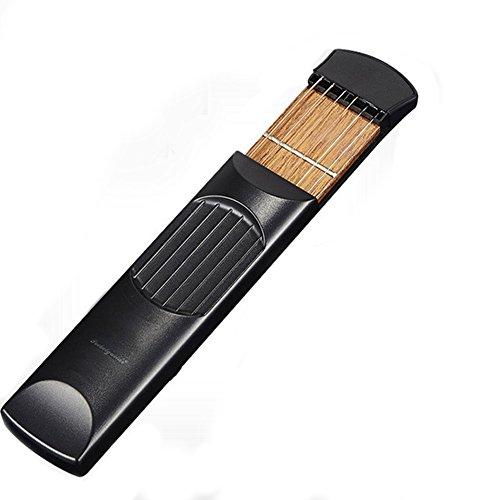 ELENKER Portable Pocket Guitar Practice Strings Tool Gadget for Beginner
