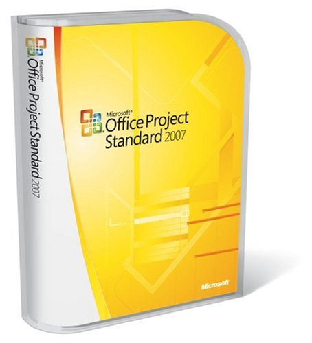 Microsoft Project Standard 2007 [Old Version] by Microsoft