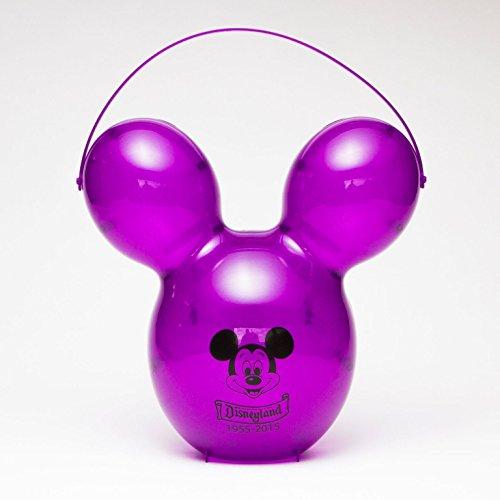 Disney Mickey Mouse Balloon 60th Anniversary Popcorn Bucket (Purple)