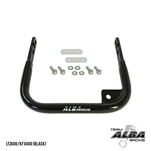Suzuki LTZ 400 (2003-2008) ATV Rear Grab Bar Bumper Black