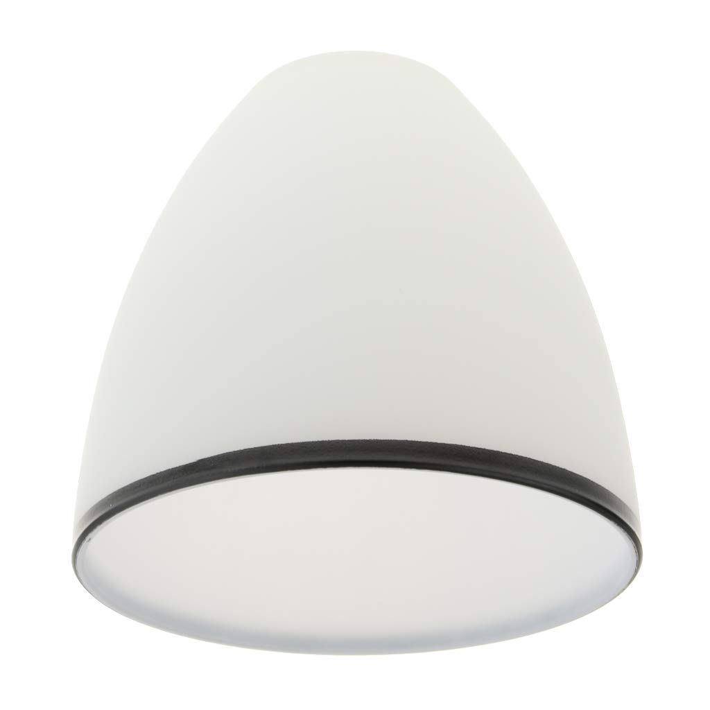 as described 5 perfk E27 White Glass Ceiling Fan Chandelier Wall Sconce Light Shade