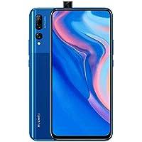 "HUAWE Y9 Prime 2019 Smartphone, 6.59"" Ultra FullView Display, 4 GB + 128 GB, Auto Pop-up Selfie Camera, Triple AI Rear Camera, 4000 mAh, Blue"