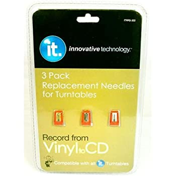 Amazon Com Techplay Pack Of 2 Roby Needle For Turntables