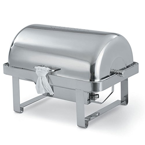 Vollrath 46350 Avenger S/S Roll-Top 9 Quart Rectangle Chafer ()