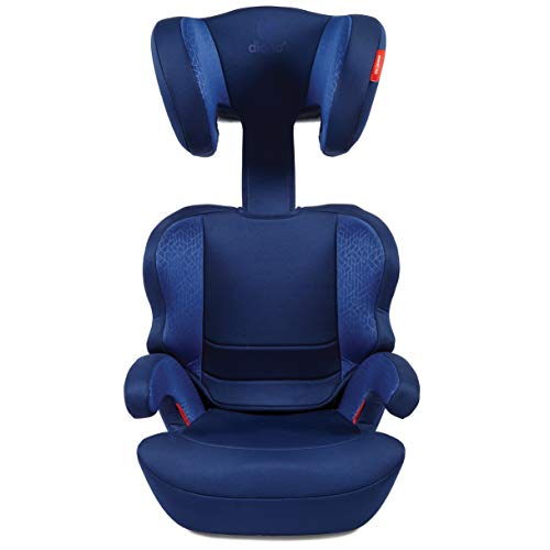 41uL1ig5RCL - Diono Everett NXT Ridgid Latch, Belt Positioning Booster Seat, High Back Booster, Lightweight Slim Fit Design, 8 Years 1 Booster Seat, Blue