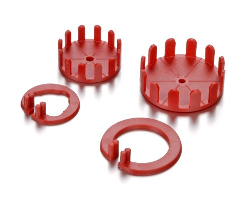 Knorr Prandell Mould For Straw Star, Red