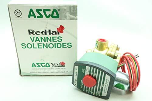 ASCO 8342G1 RED-HAT II Solenoid Valve 120V-AC 1/4IN NPT