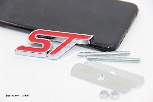 B171 St Rouge Embl/ème de la calandre Embl/ème Badge Sticker Car Automobile Autocollant de Voiture Haut New calandre