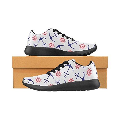 InterestPrint Womens Jogging Running Sneaker Lightweight Go Easy Walking Comfort Sports Athletic Shoes k1Y3MK