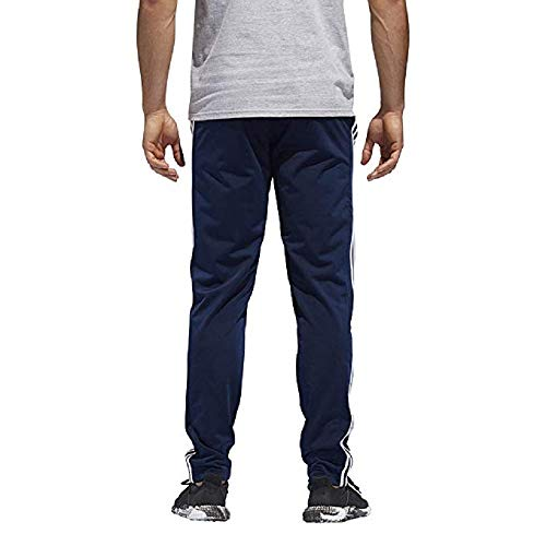 adidas Men's Essential Track Pants Gameday Pant (Navy/White, Medium)