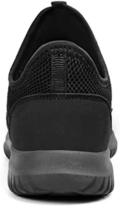 Troadlop Mens Sneakers Slip on Shoes Men Laceless Sport Shoes for Men Knit Breathable Running Walking Athletic Shoes 10