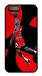 NIKE JUST DO IT QUOTE Michael Jordan BASKETBALL Custom Case/Cover FOR For Ipod Touch 4 Phone Case Cover pc BLACK