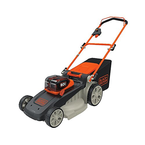 BLACK+DECKER CM2060C 60V Max Power Swap Mower, 20