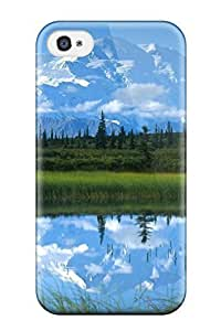 New PAXmKSz3422DbxkW Mountain Earth Nature Mountain Tpu Cover Case For Iphone 4/4s