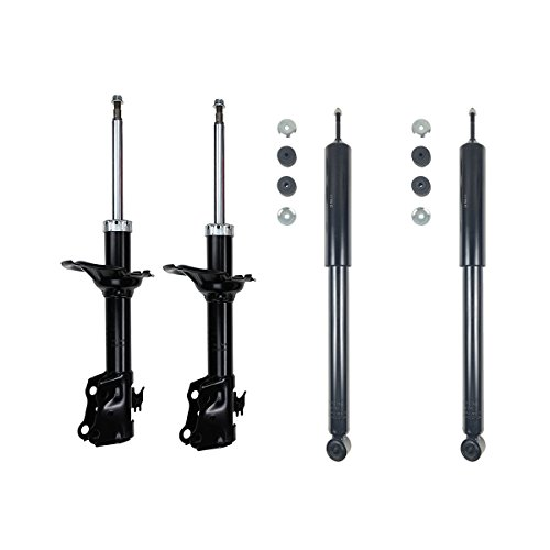 Vekwena Front & Rear Pair Shock Absorber Gas Struts Complete Assembly Kit For 04-06 Scion xA xB