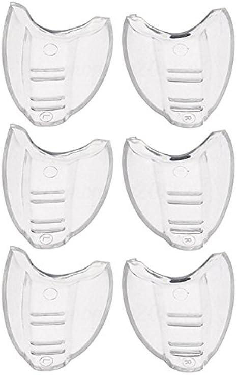 SSXY Protectores laterales para anteojos Protectores laterales para vidrios de seguridad, claros y flexibles