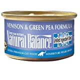 Natural Balance Limited Ingredient Diets Venison and Green Pea Formula Canned Cat Food, My Pet Supplies