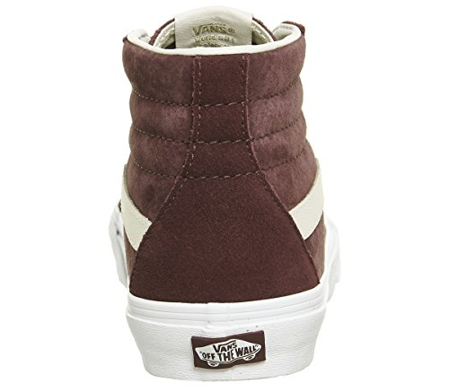 Vans Sk8 mode True Port White Hi Baskets Eggnog Suede vd5i6bt Exclusive homme rrfwRq