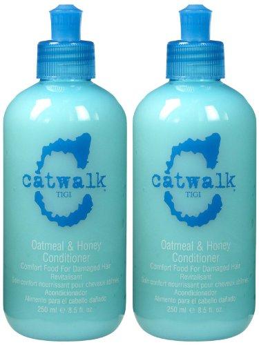 TIGI Catwalk Oatmeal & Honey Conditioner - 8.5 oz - 2 pk