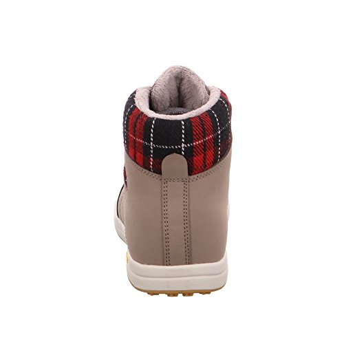 Bruetting Women's Aurora Hi-Top Sneakers Brown/Red sXTogy0I