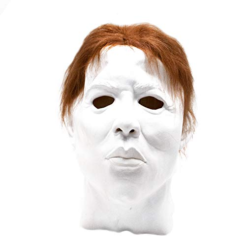 Michael Myers Decoration Box Gift Realistic Party Dress Latex Halloween Mask]()