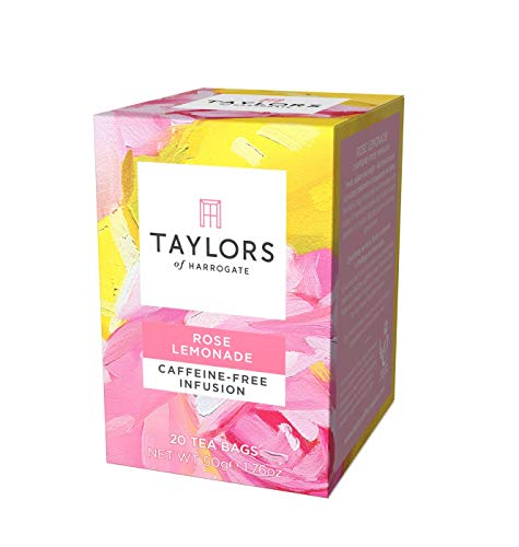 (Taylors of Harrogate Rose Lemonade Infusion, 20 Teabags)