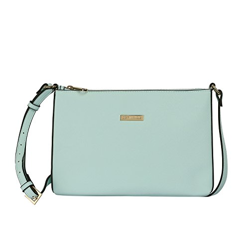 Sept Miracle Lightweight Medium Women Crossbody Bag PU Leather Shoulder Bag Tote Bag Ladies Girls Purse (Aqua) - Aqua Womens Bag