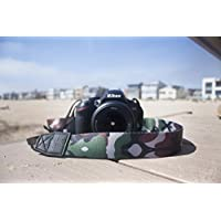 TETHER Camera Strap - Camo design camera strap for DSLR or SLR camera, DSLR Camera Strap. Camera accessories. Canon camera strap. Nikon camera strap