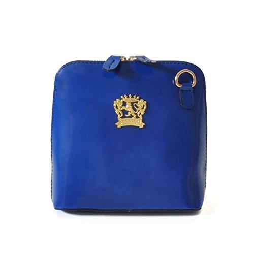 Pratesi Volterra Tasche - R467 Radica (Gelb) Elektric blau
