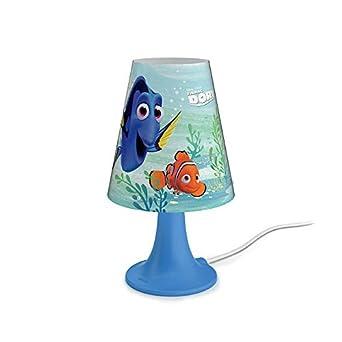 Lampe Dory Bleu Chevet Led Motif Philips De DYH29WIE
