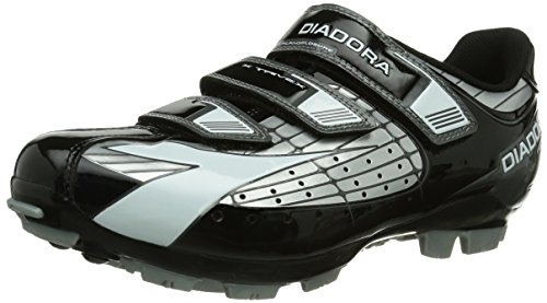 Diadora X Trivex - Zapatillas de ciclismo de carretera Unisex adulto Silber (silber/Negro/Blanco 1147)