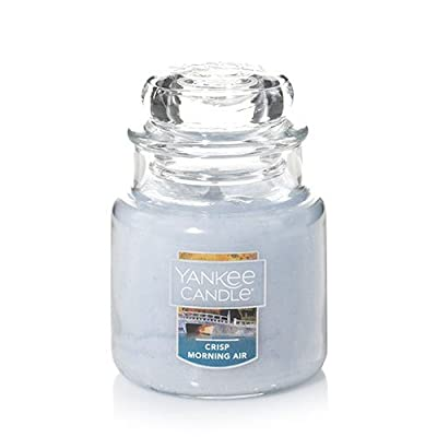 Yankee Candle Crisp Morning Air Small Jar Candle, Fresh Scent