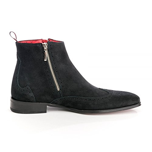 Jeffery West Ko40 Capone Herren Zip Boot Zwart