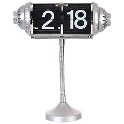 Maple's Table Flip Clock Flexible Goose Neck Stand