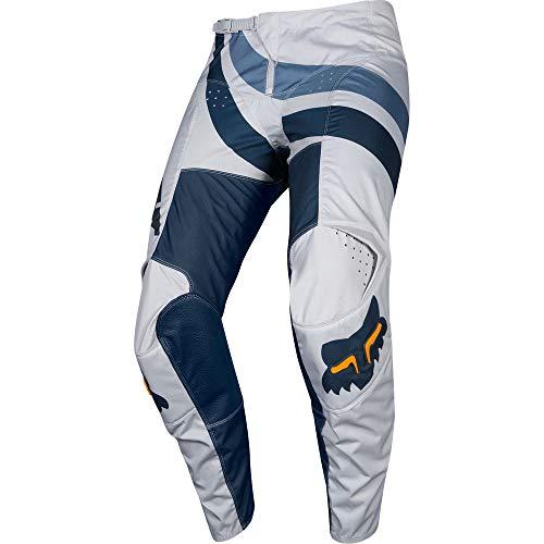 (Fox Racing 180 Cota Men's Off-Road Motorcycle Pants - Grey/Navy / 36)