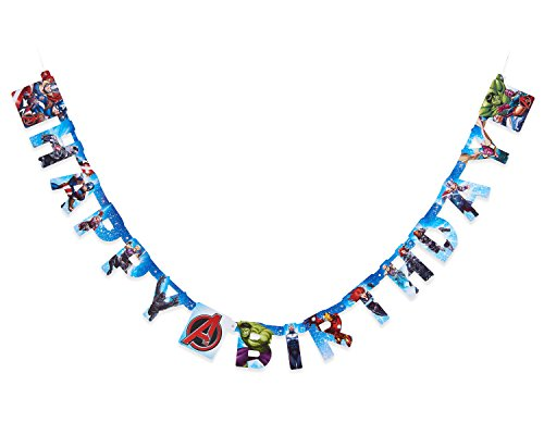 American Greetings Boys Avengers Epic Birthday Party Banner -