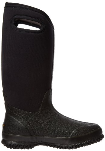 Insulated Handle Boot US M High Black Waterproof Women's Bogs Classic 6 wxqOOY