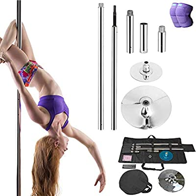DSYYF Stripper Pole Dancing Pole Kit con Bolsa, Spinning ...