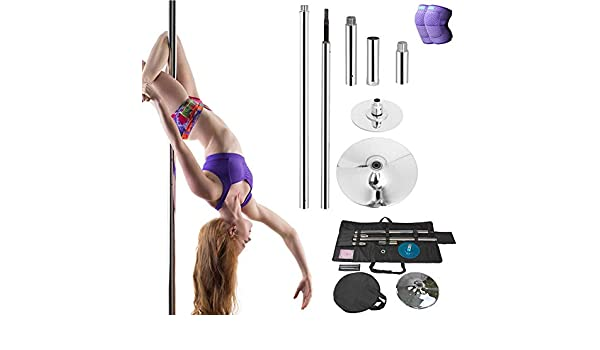 DSYYF Stripper Pole Dancing Pole Kit con Bolsa, Spinning ...