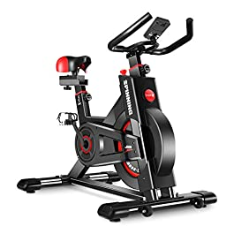 Dripex Upright Exercise Bikes (Indoor Studio Cycles) –...