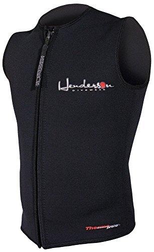 日本製 メンズHendersonプレミアム3 mm Thermopreneジッパー付きベスト –、ブラック、L – mm Henderson diving by Henderson B01KH4QBE2, レブンチョウ:d88c206e --- a0267596.xsph.ru