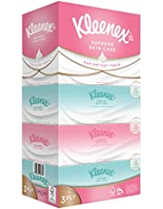 Kleenex Supreme Skincare Silky Soft, 3 PLY, Facial Tissues, 80ct (Pack of 5)