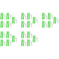 5 x Quantity of Hubsan X4 H107D Green White 55mm Propellers Blades Props 5x Propeller Blade Prop Set 20pcs Drone Parts Drones