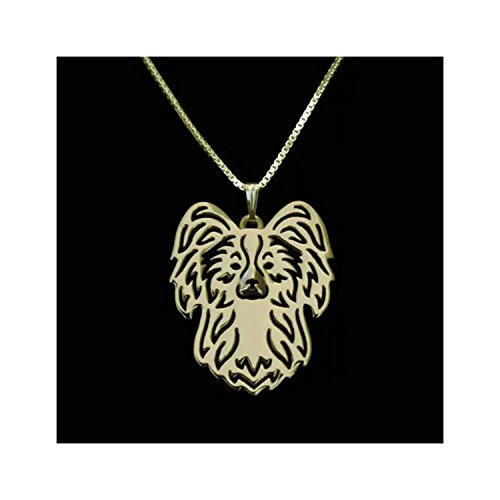 MMBD Papillon Dog Necklace - Papillon Necklace