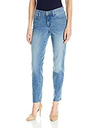 NYDJ Women's Petite Size Alina Convertible Ankle Jeans in...